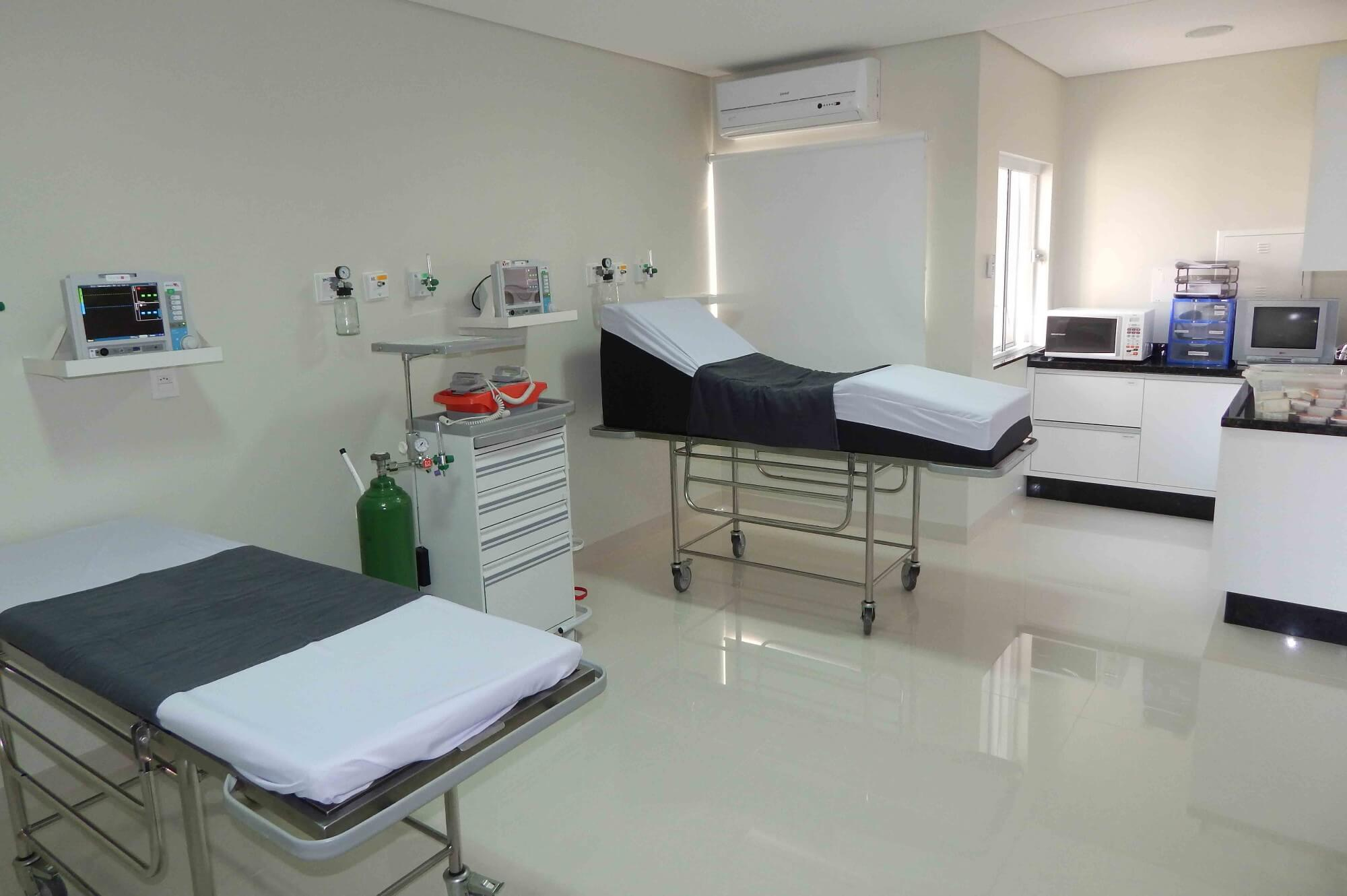 Sala de Recuperação Pós-Anestésica (RPA) Renaissance Umuarama